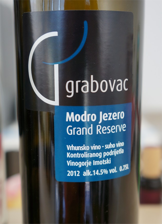 Grabovac Croatia  city photo : Imotski wine, Šimunović & Grabovac, Croatia | North East Wino